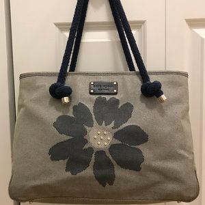 Kate Spade Canvas Tote Handbag
